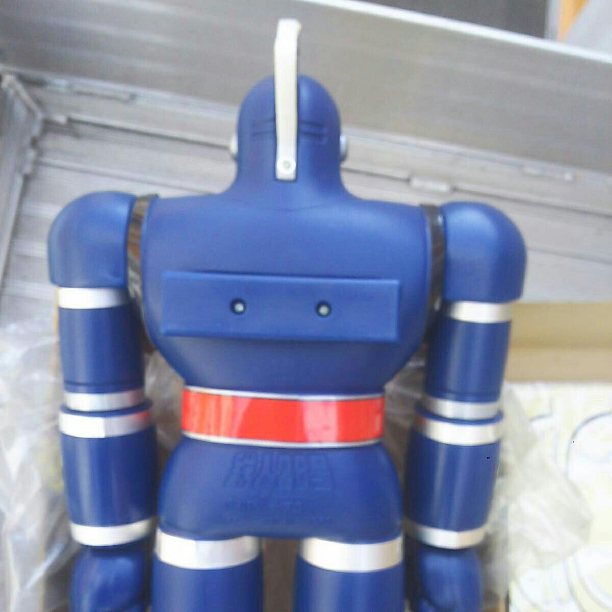 ポピー ジャンボマシンダー 鉄人28号 美品 箱 付属品 _画像9