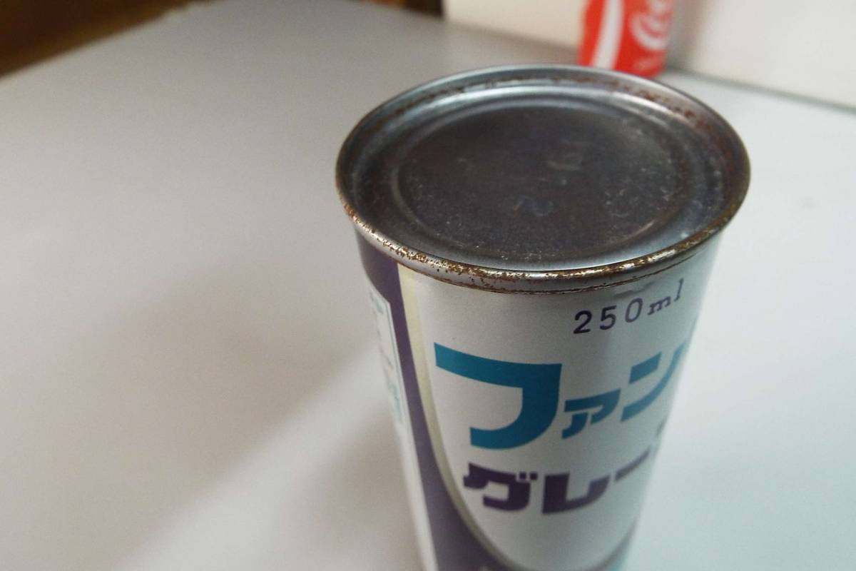 昭和レトロ ファンタグレープ 250ml 空き缶_画像7