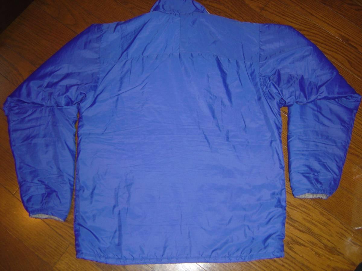 パタゴニア PATAGONIA MICRO PUFF PULOVER マイクロ パフ プルオーバー ジャケット レトロX グリセード XS 紫 コバルト フリース スナップT_画像4
