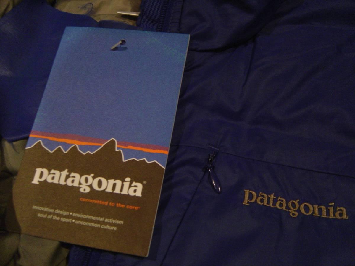 パタゴニア PATAGONIA MICRO PUFF PULOVER マイクロ パフ プルオーバー ジャケット レトロX グリセード XS 紫 コバルト フリース スナップT_画像5