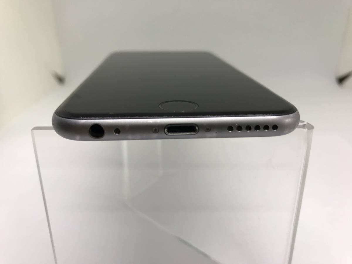 ★◯ 中古 iPhone6s au KDDI 128GB スペースグレー 黒 MKQT2J/A 残債なし 白ロム ◯判定 初期化済み 簡易動作確認済み_画像8