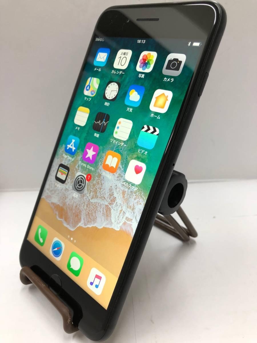 ● 中古良品 iPhone7 Plus ブラック MN6F2J/A 128GB au KDDI 白ロム ◯判定 初期化 動作確認済み