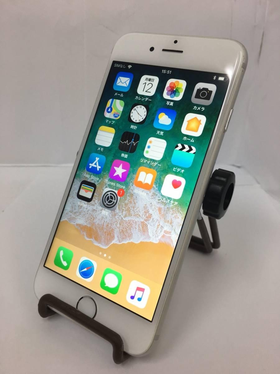 ☆ 中古 iPhone6 16GB au KDDI シルバー 銀 MG482J/A 白ロム ネットワーク判定◯ 初期化済み 簡易動作確認済み