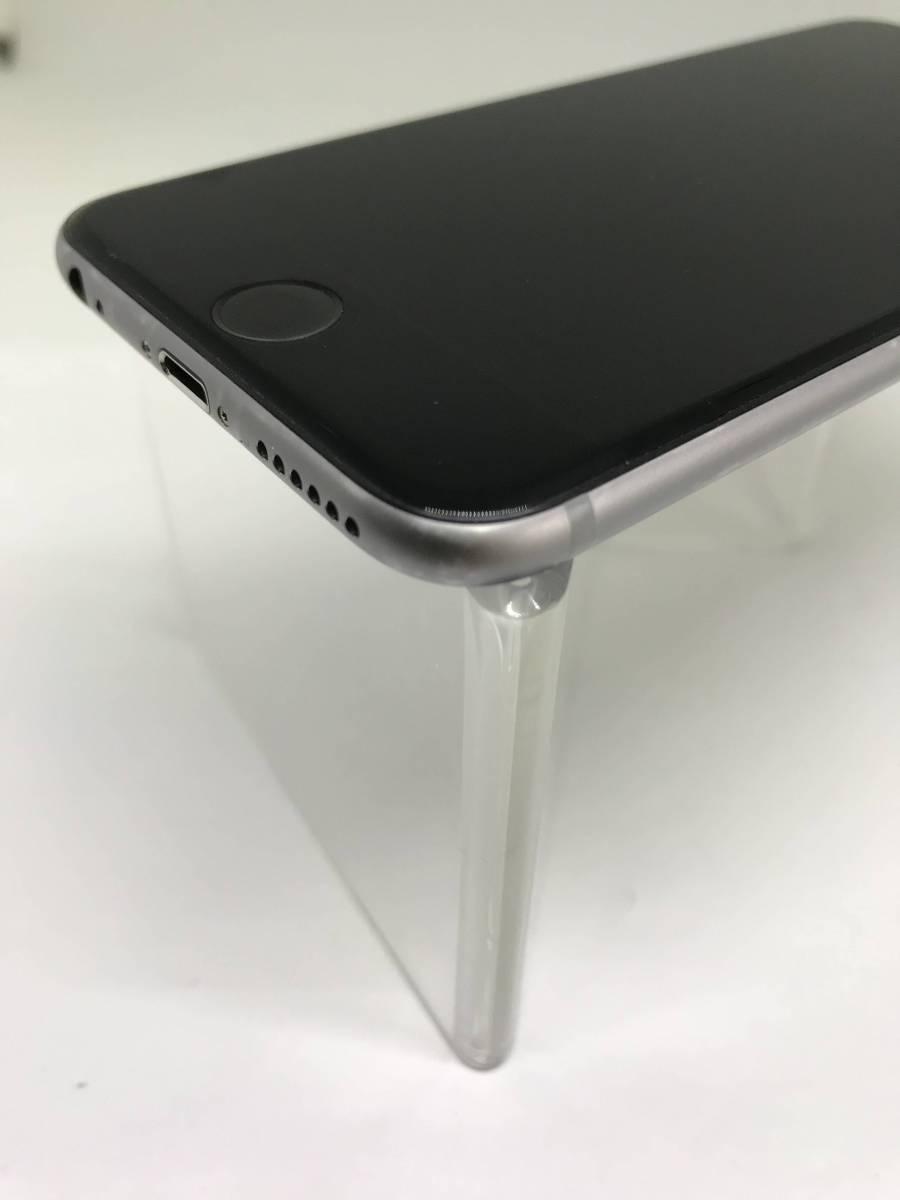 ★◯ 中古 iPhone6s au KDDI 128GB スペースグレー 黒 MKQT2J/A 残債なし 白ロム ◯判定 初期化済み 簡易動作確認済み_画像4