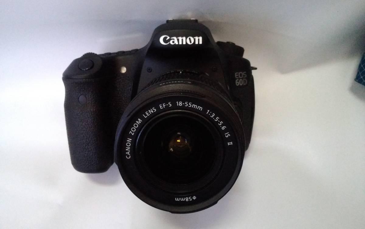 ☆極美品☆Canon EOS60D☆EF-S18-55mm F3.5-5.6 IS