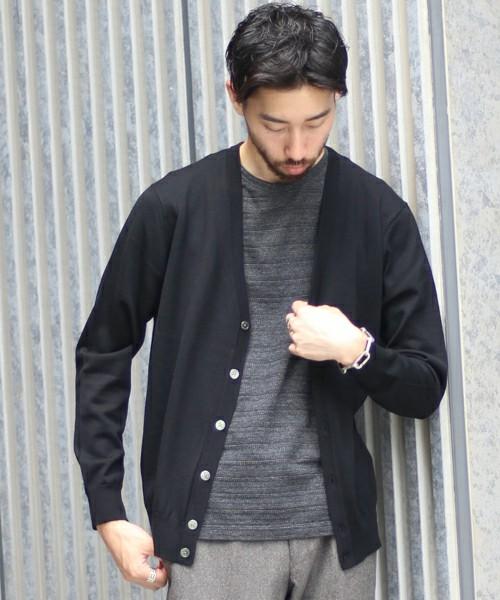新品 定価14040円 ニット セーター カーディガン EDIFICE エディフィス 44 Sサイズ