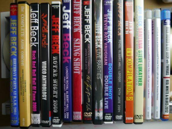 ジェフ・ベック【コレクターズ盤DVD13種+ブルーレイ3種】Jeff Beck【その2】