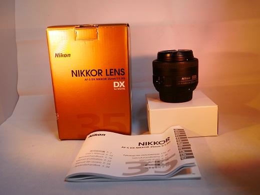 ◆◇美品 AF-S DX NIKKOR 35mm f/1.8G 中古◇◆