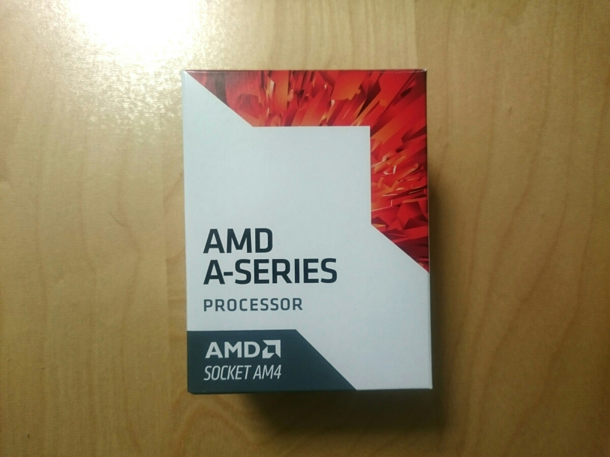[稼働時間1時間 ほぼ新品 2/15購入 保証あり]AMD A10 9700E AD9700AHABBOX