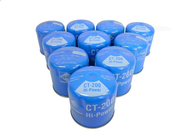 1116 コールマン キャンピングガス CT-200 10缶セット