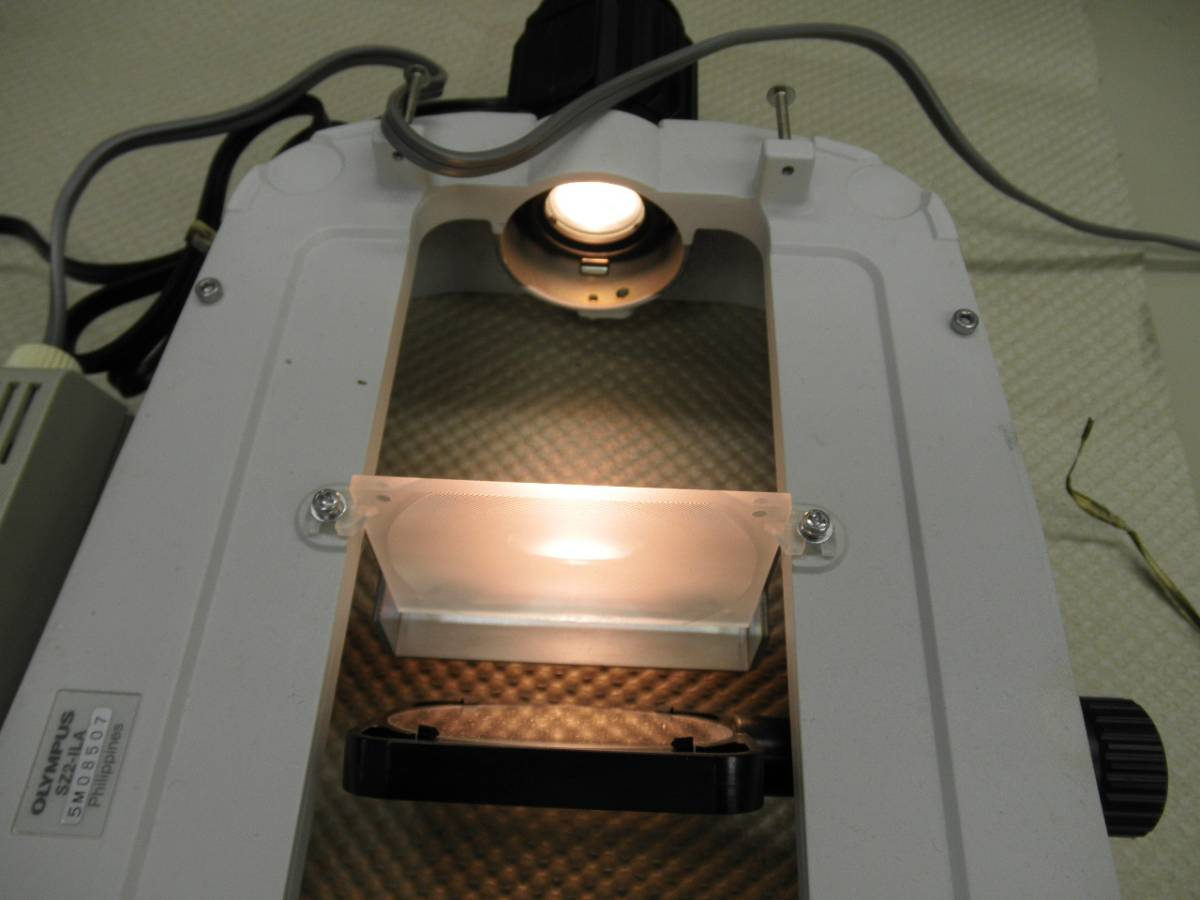 オリンパス実体顕微鏡SZシリーズ投下照明ベース_画像6