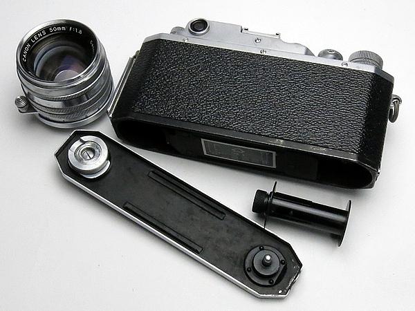 ☆キヤノン 4Sb 改型 50mm/1.8 付 /難有・現状_画像6