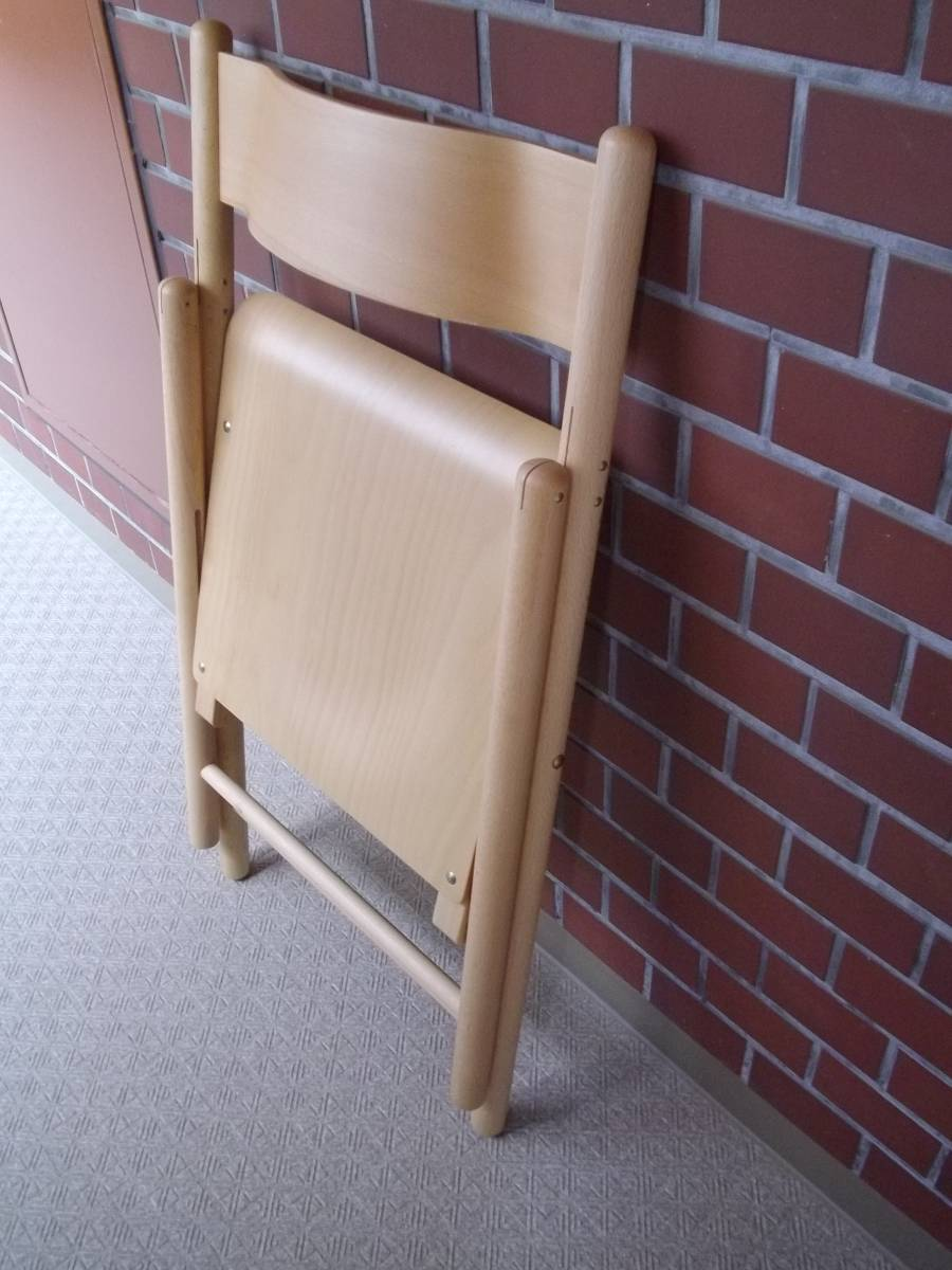 無印良品 MUJI オーク材 ダイニングチェア 椅子 イス 無垢材 - 家具