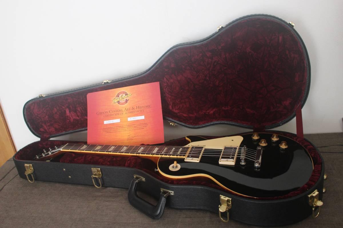 Gibson Custom Shop Historic 1956 Les Paul Ebony Black/ レスポール ヒスコレ ハード