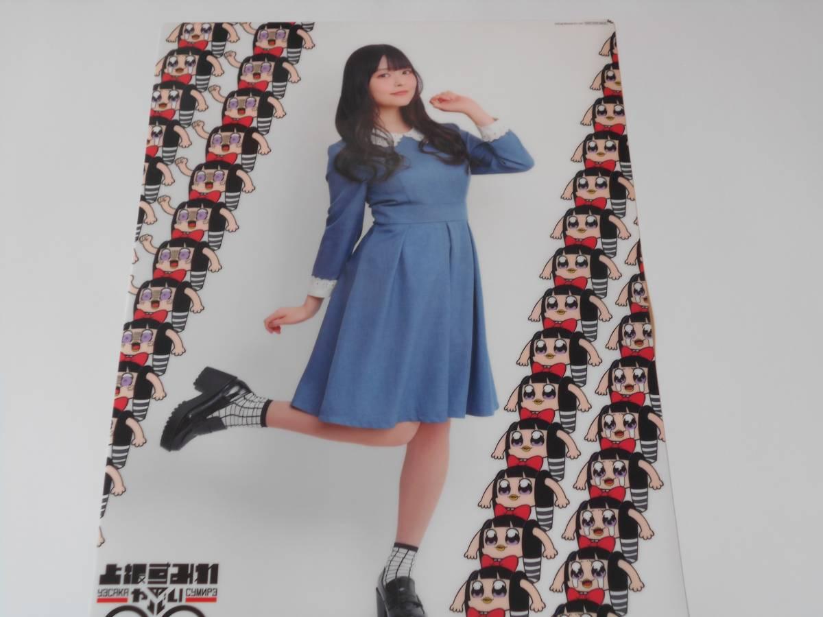 上坂すみれ 上坂すみれのヤバい○○ Blu-rayBOX とらのあな特典 クリアポスター