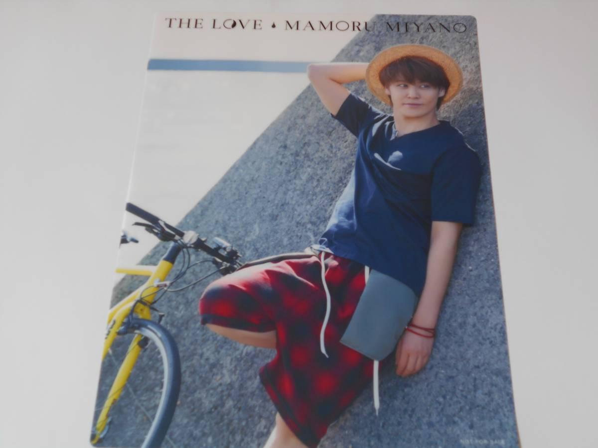 宮野真守 6thアルバム THE LOVE 初回限定盤 とらのあな特典 クリアポスター