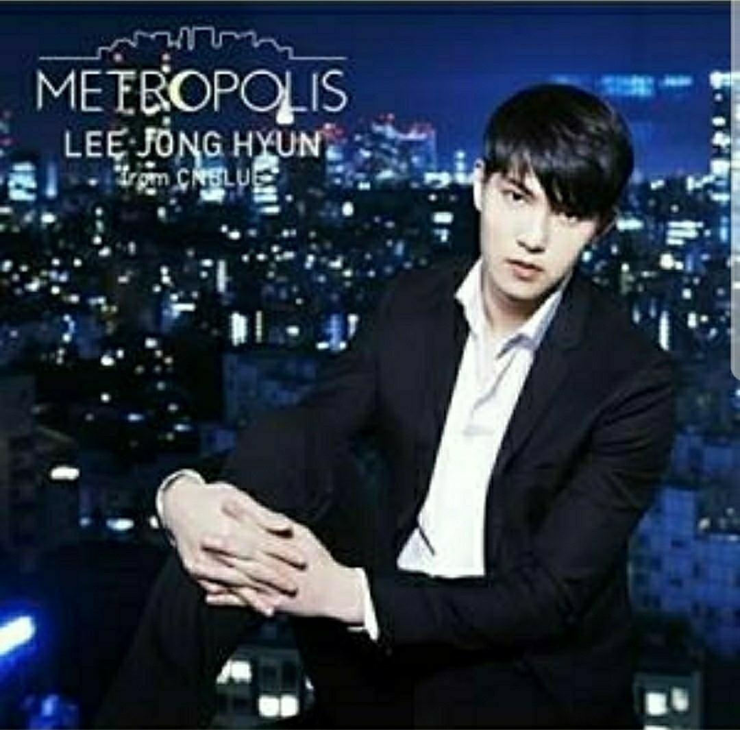 ★送料無料★イ・ジョンヒョン(from CNBLUE) アルバム METROPOLIS 初回盤 シリアルなし