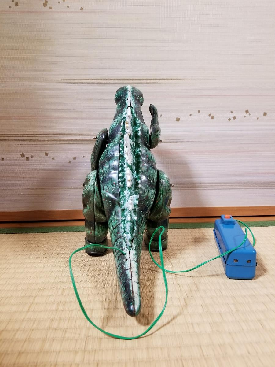 当時物 ゴジラのブリキ 電動歩行 マルサン_画像5
