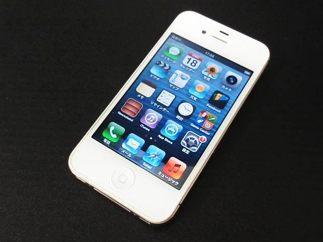 ★S for Steve★ iPhone4S 32GB SoftBank☆MD245J/A☆白☆判定:○ ☆Active!☆数千円で