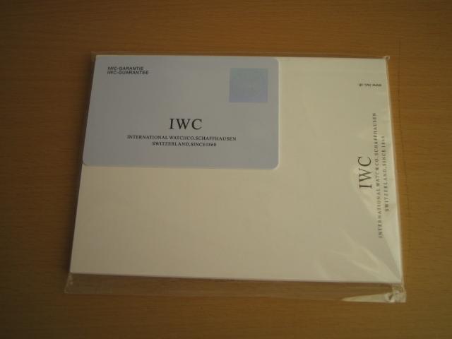 美品!IWC ポルトギーゼ 黒文字盤_画像3