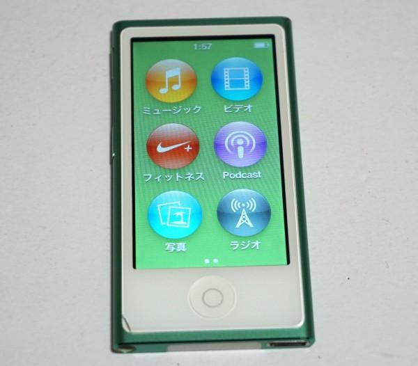 【中古】Apple iPod nano MD478J 16GB グリーン 第7世代 動作確認済み 1円スタート
