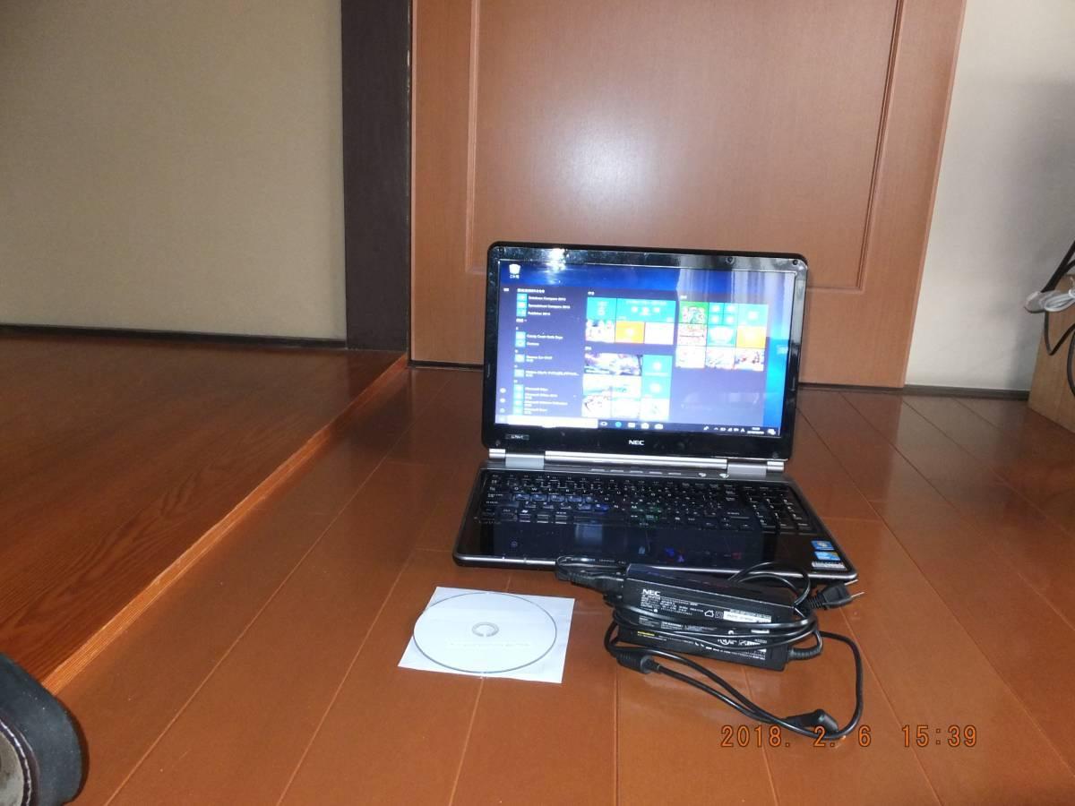 【最新Windows10】NEC ノートパソコン(SSD内臓4GB+HDD1TB)メモリ4GB/office2013☆