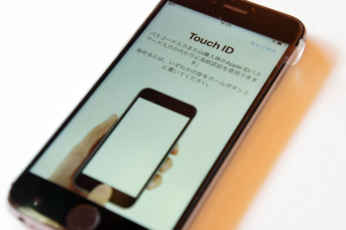 Touch ID問題なく動作します