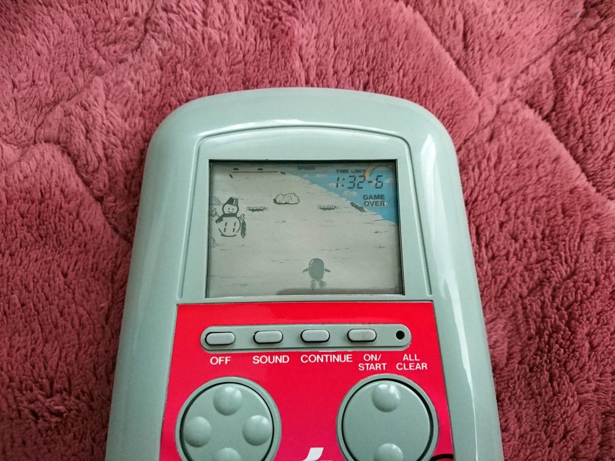 希少 けっきょく南極大冒険 コナミ 電子ゲーム LSI LCD 昭和レトロ 当時物 KONAMI 箱 携帯ゲーム MSX ジャンク 中古_画像4