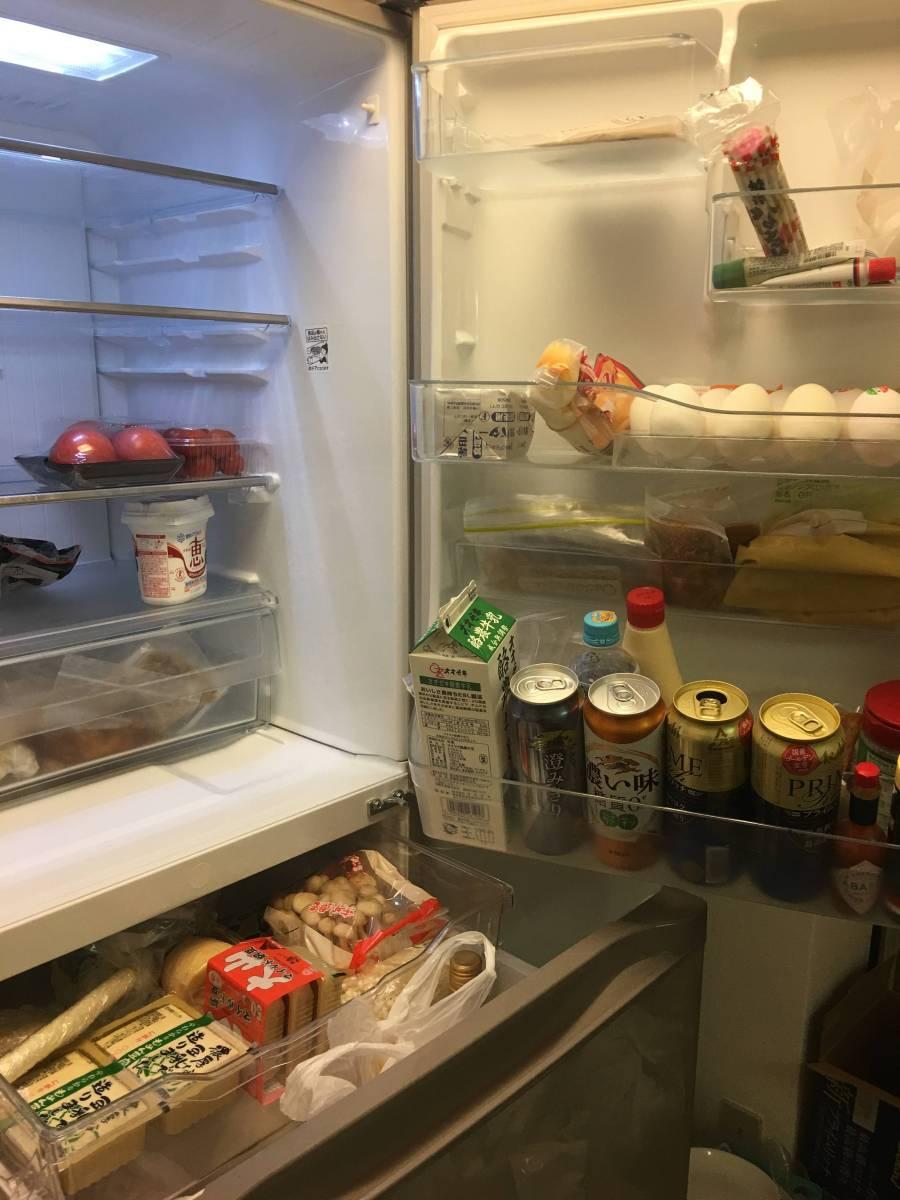 東芝 冷凍冷蔵庫 VEGETA 5ドア自動製氷機能付省エネ ノンフロン 427リットル GR432-GS(NU)2012年 中古 美品_画像4