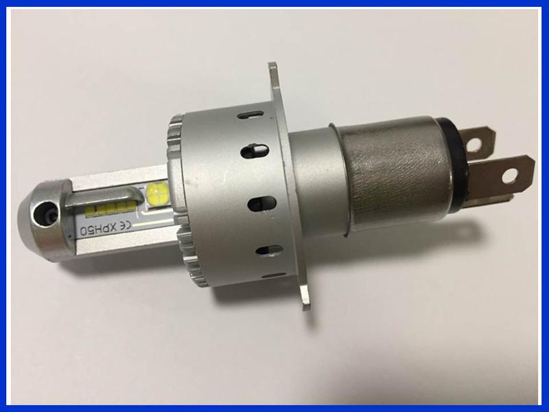TMAX T-MAX◇ワンタッチ取付 CREE製 XHP50 LEDチップ 16000LM PHILIPS H4 Hi/Lo LEDヘッドライト 車検対応_画像3