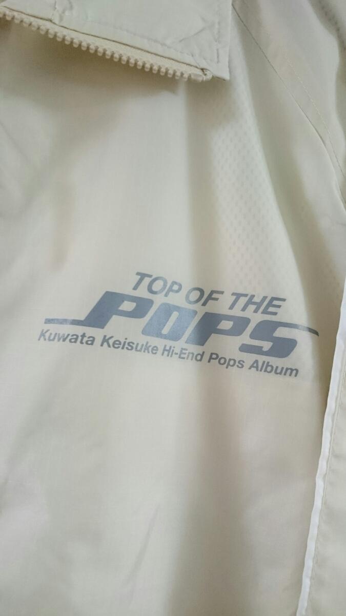 美品 桑田佳祐 Hi-End Pops Album TOP OF THE POPS ナイロンジャケット フリーサイズ TAISHITA Victor サザンオールスターズ 希少_画像3