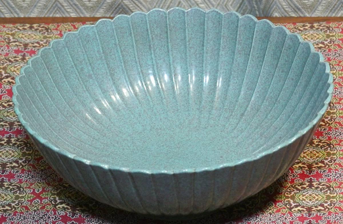 清時代 爐(ろ)釣窯 鉢皿 窯変