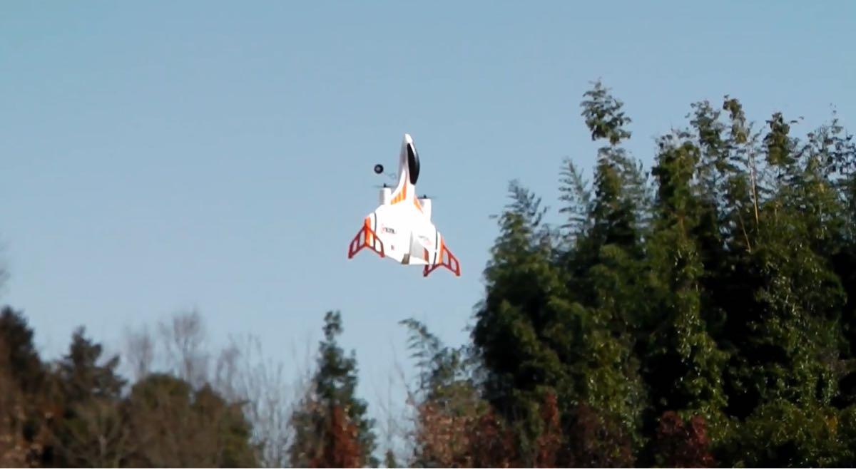 XK X520 3D/6G ラジコン プレーン 飛行機 VTOL ブラシレスモーター 固定翼 垂直離陸 ドローン 3種モード 2.4G 6CH モード1/2 X8送信機 RTF