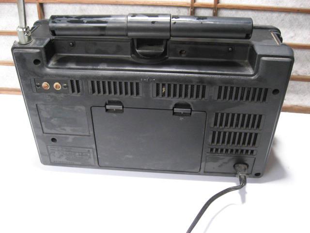 《和》 昭和レトロ National Panasonic 8BAND COVGAR2200 ジャンク品_画像6