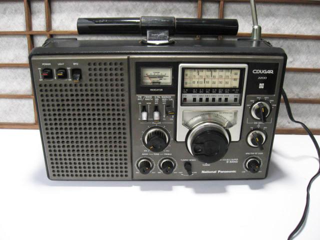 《和》 昭和レトロ National Panasonic 8BAND COVGAR2200 ジャンク品