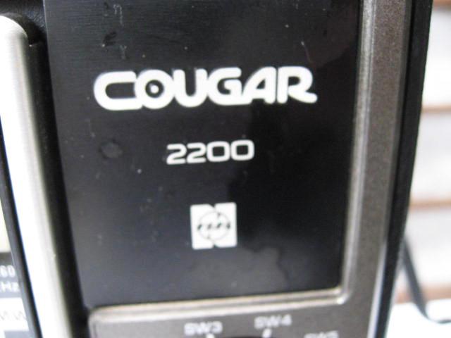 《和》 昭和レトロ National Panasonic 8BAND COVGAR2200 ジャンク品_画像4