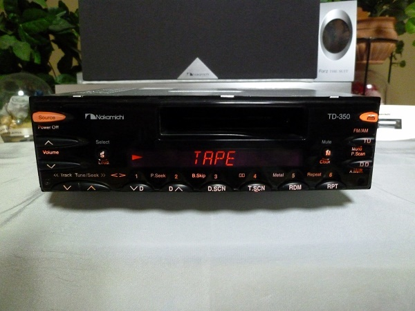 Nakamichi Height Sound Quality Td 350 Mobil Sound Receiver Rare