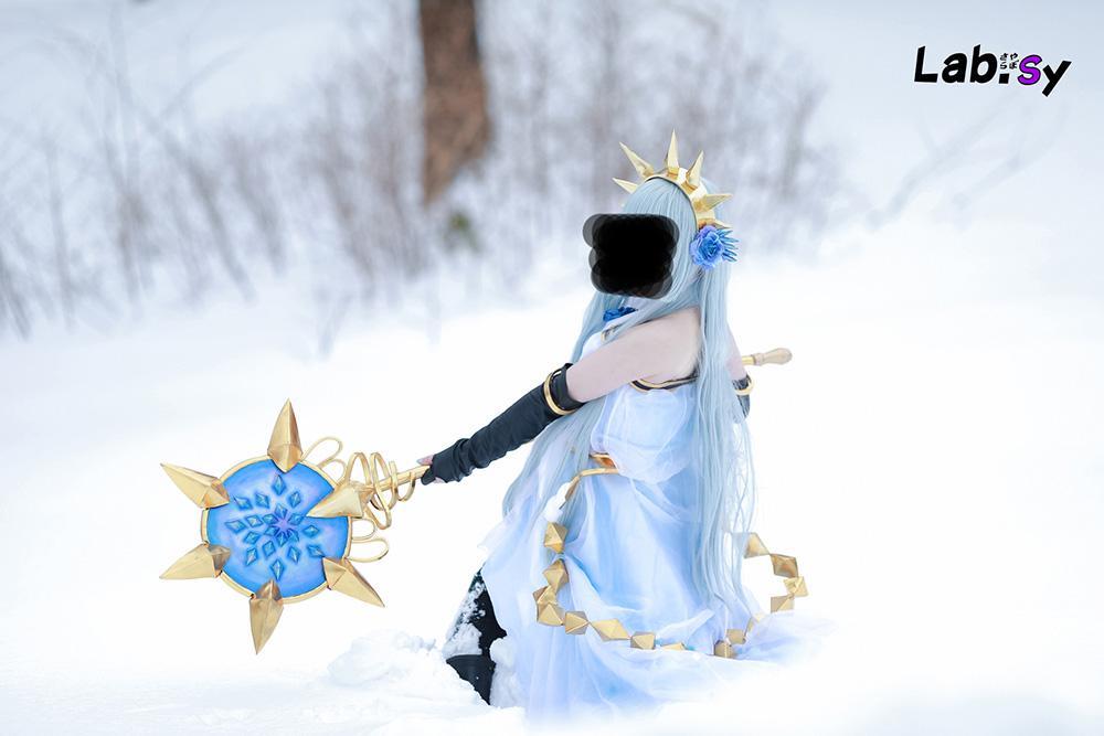 【中古】グランブルーファンタジー リリィ コスプレ衣装、武器 フルセット【グラブル】_画像3