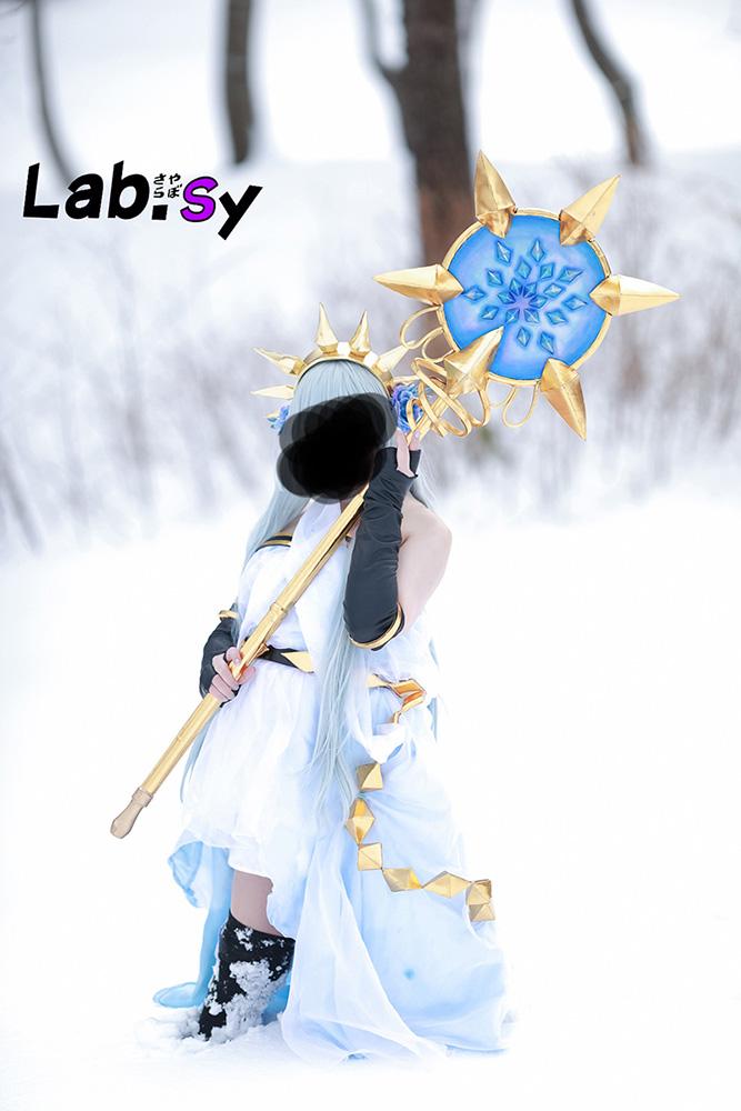 【中古】グランブルーファンタジー リリィ コスプレ衣装、武器 フルセット【グラブル】