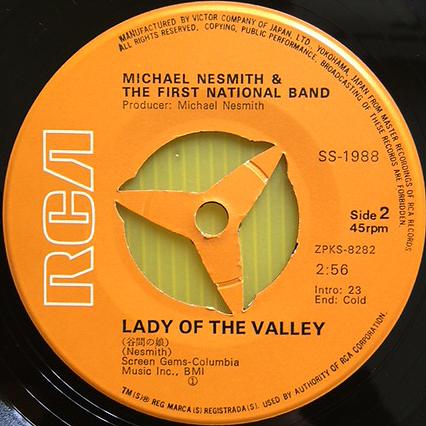 ★マイク・ネスミス「シルバー・ムーン」EP(1970年)初版ジャケSS-1988★_画像4