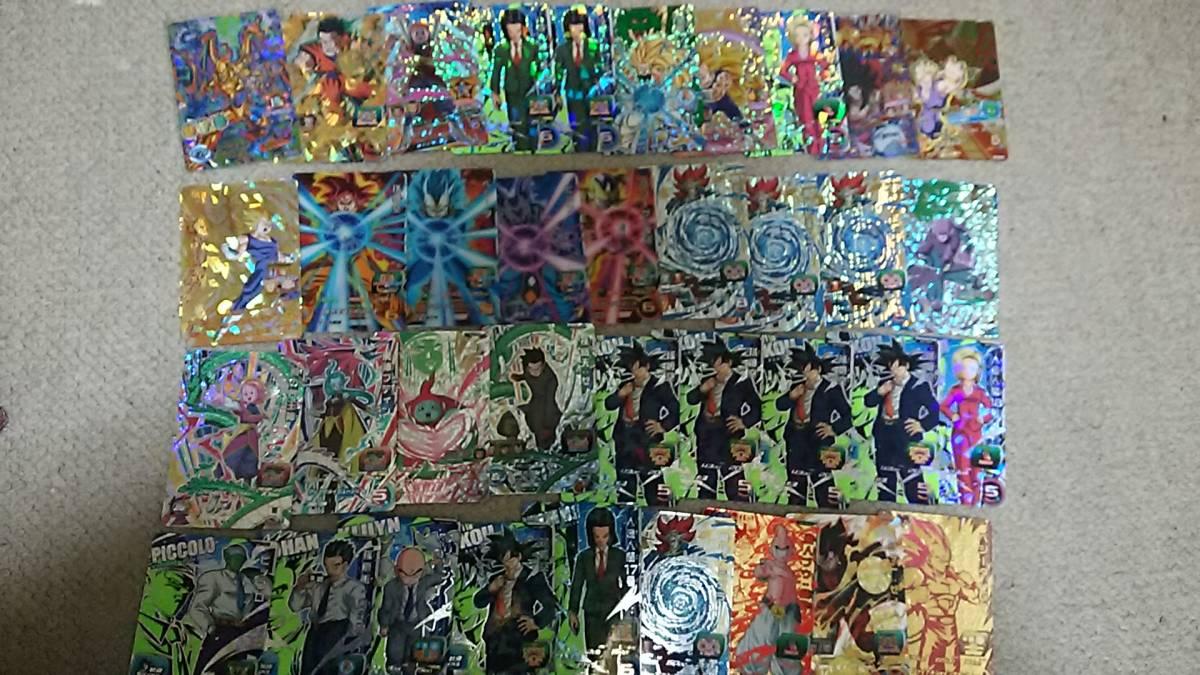 ドラゴンボール ヒーローズ引退売り CP1243枚、SR311枚 1500枚以上_画像2