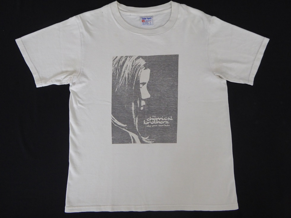 1円超レア!The Chemical Brothers/名作/ビンテージTシャツ/90s/USA製/Dig Your Own Hole(Oasis/オアシス)NINE INCH NAILS/NIRVANA