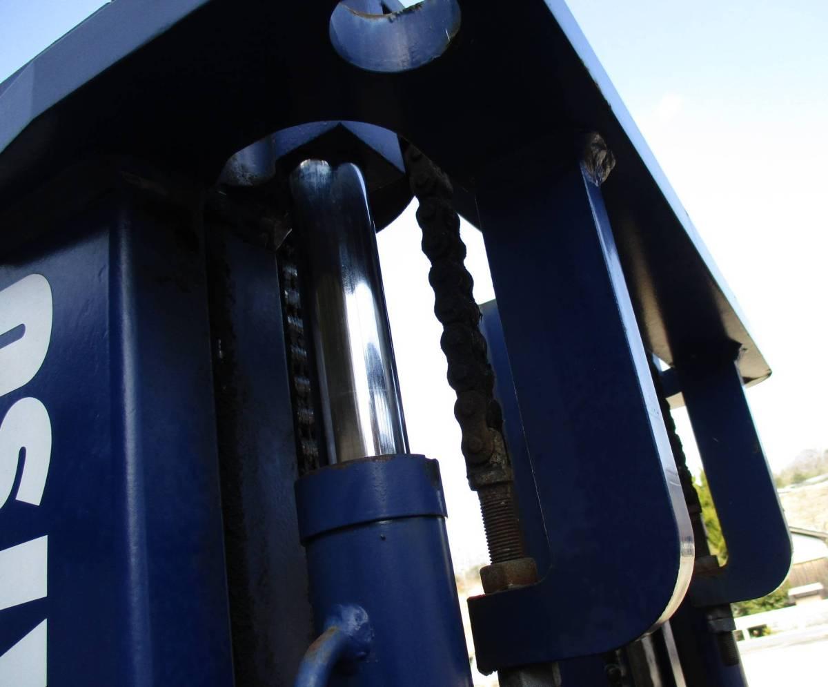 コマツ 中古 フォークリフト 1.5t ガソリン FG15C-16 2000年 揚高3m ノーパンクタイヤ 神戸から (KOMATSU 1500kg 即活躍の現役リフト)_画像10