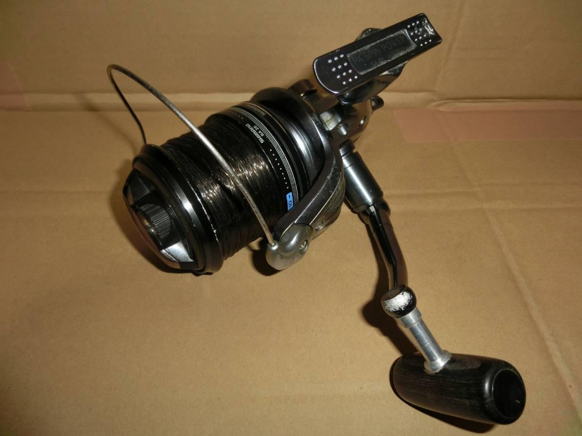 シマノ SA26 パワーエアロ スピンパワー リール 淡水鯉釣り使用 中古 海釣りにも