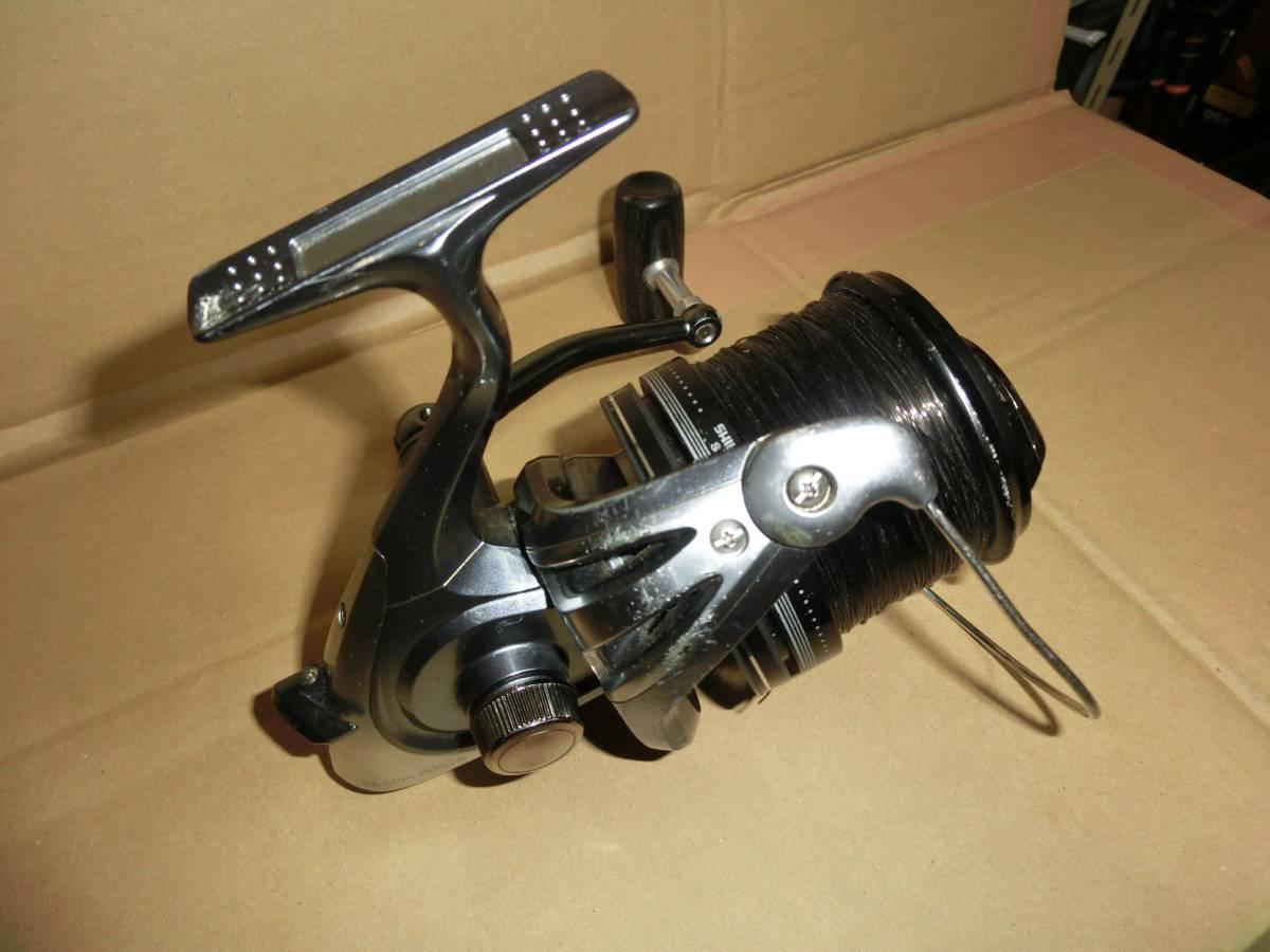シマノ SA26 パワーエアロ スピンパワー リール 淡水鯉釣り使用 中古 海釣りにも_画像4