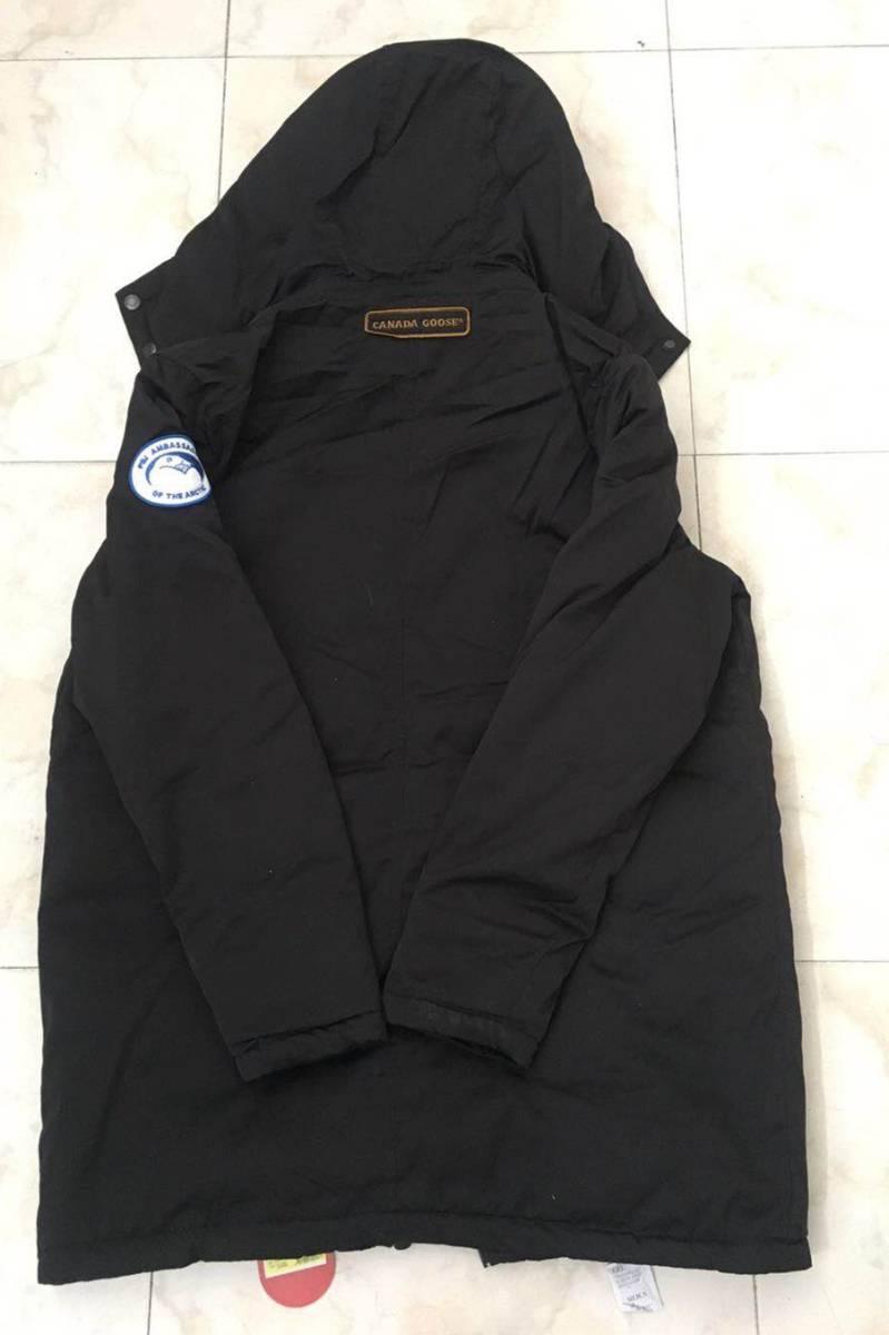 CANADA GOOSE ダウンジャケット  カナダグース メンズ用 パーカー Lサイズ 黒