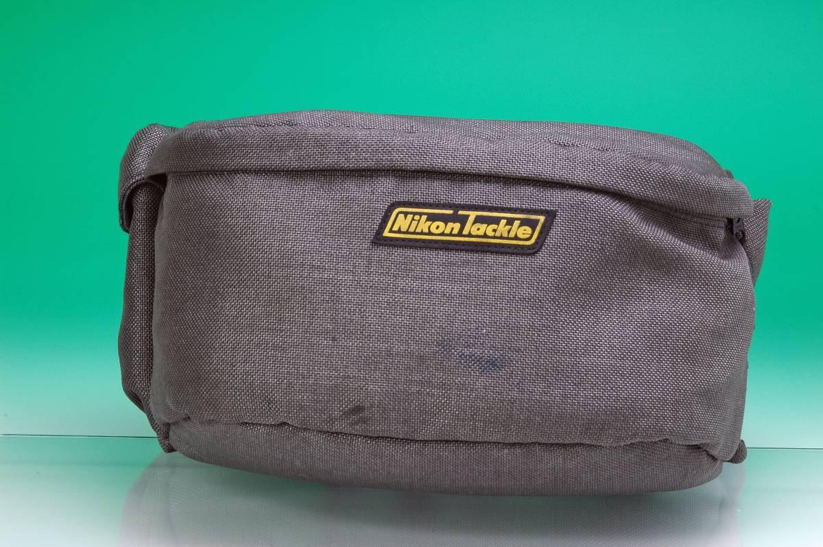 【宅配送料込み】ニコン タックル ウエストバッグ Nikon Tackle  約30年前の品物です