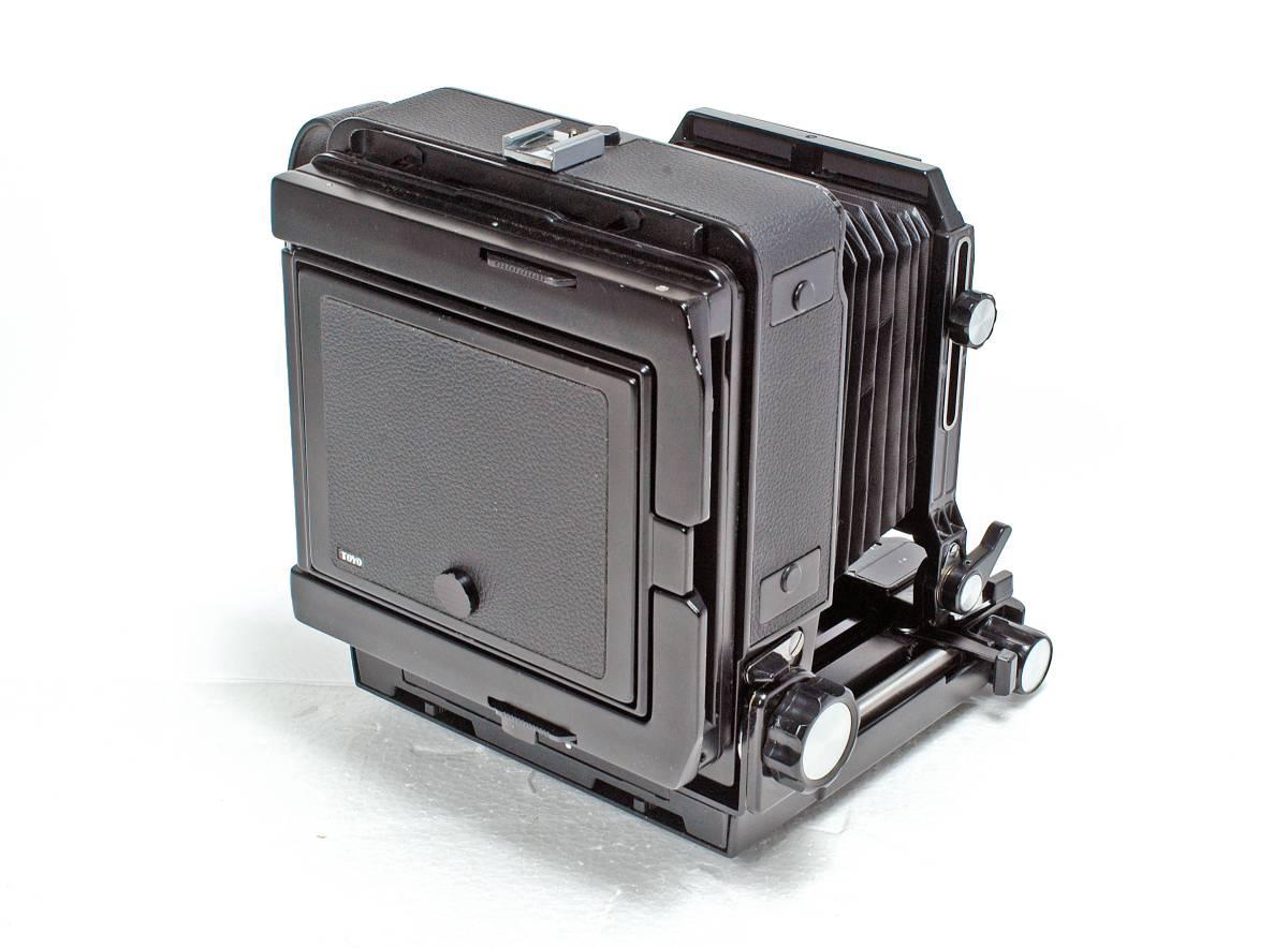 Delivery Free] TOYO FIELD 4 x 5 Toyofield 45 + Manufacturer Genuine Aluminum Case + Linhof Board Base トヨフィールド45 _画像2
