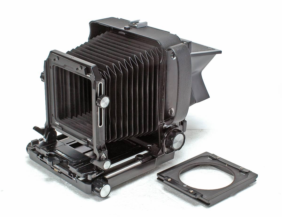 Delivery Free] TOYO FIELD 4 x 5 Toyofield 45 + Manufacturer Genuine Aluminum Case + Linhof Board Base トヨフィールド45 _リンホフボード