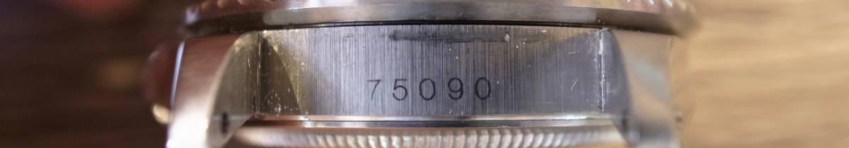 高年式 TUDOR SUBMARINER 75090 自動巻 メンズ 巻きブレス 1988年 OVH済み_画像8